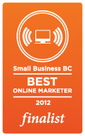 Best Online Marketer Finalist - Successful You Awards 2012