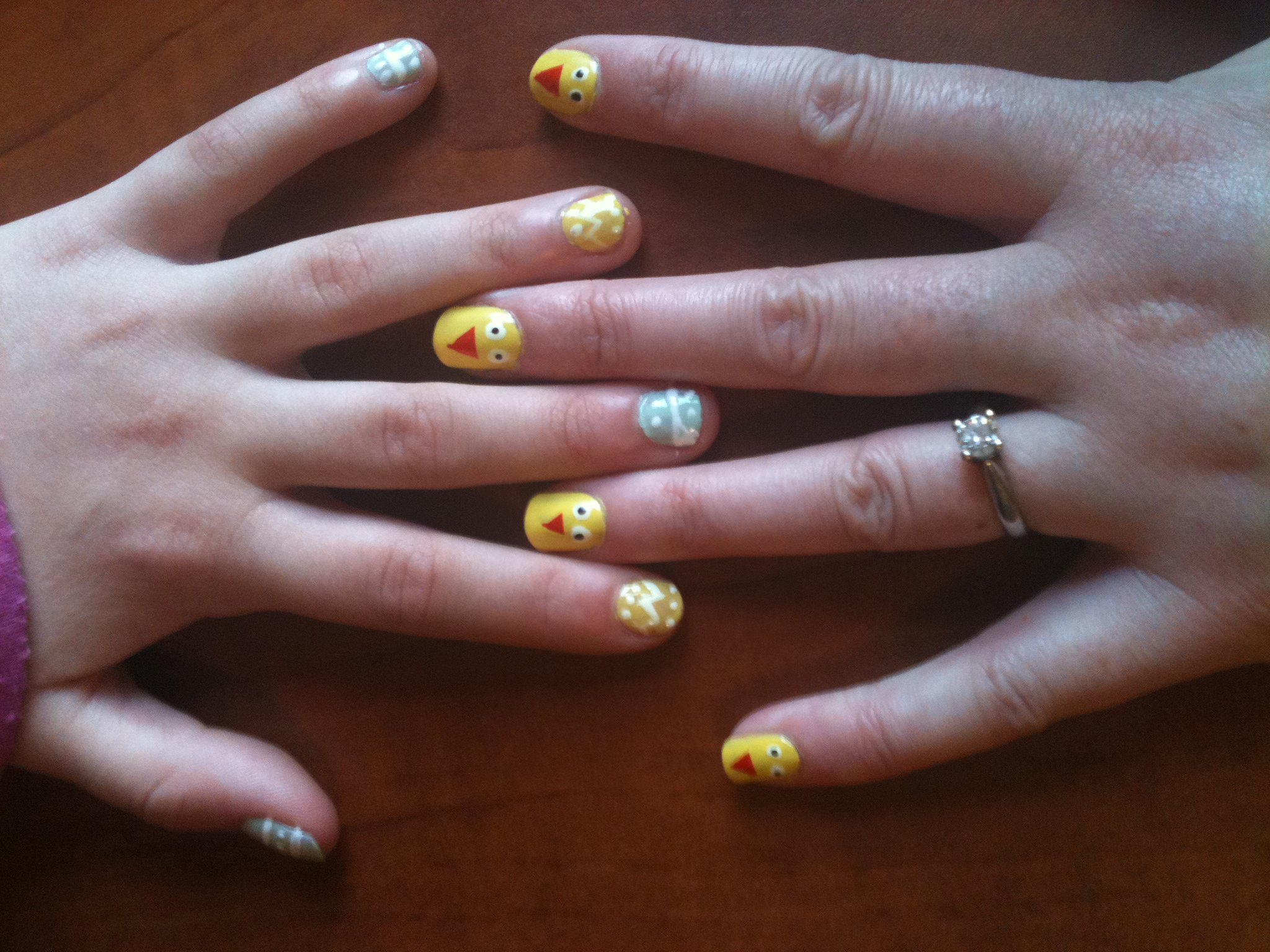 Easter Fun - Nail Art for Adults and Kids