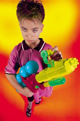 Kids with Toy Guns